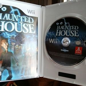Wii game Haunted House